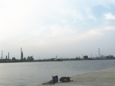 磯津漁港・三重県四日市市