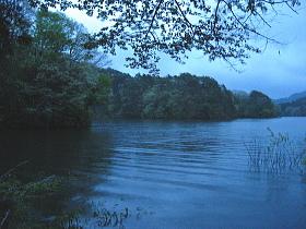 三河湖腰掛ボラ